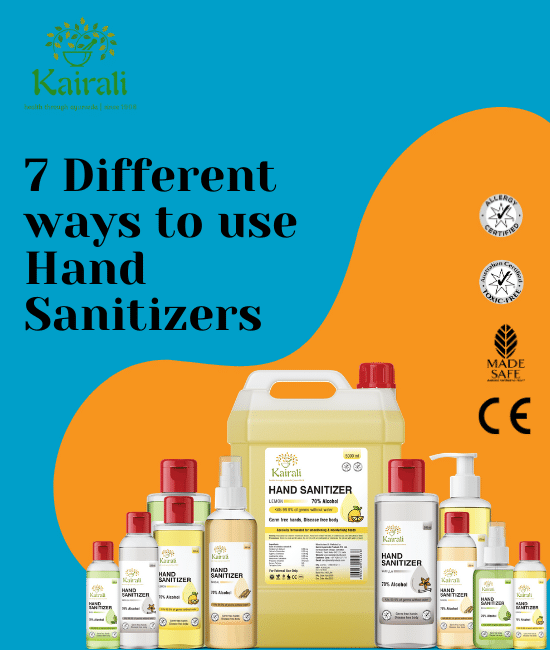 7 ways to use hand sanitizer