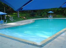 healing village swimming pool