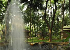 Water Fall View in Kairali The Ayurvedic Healing Village