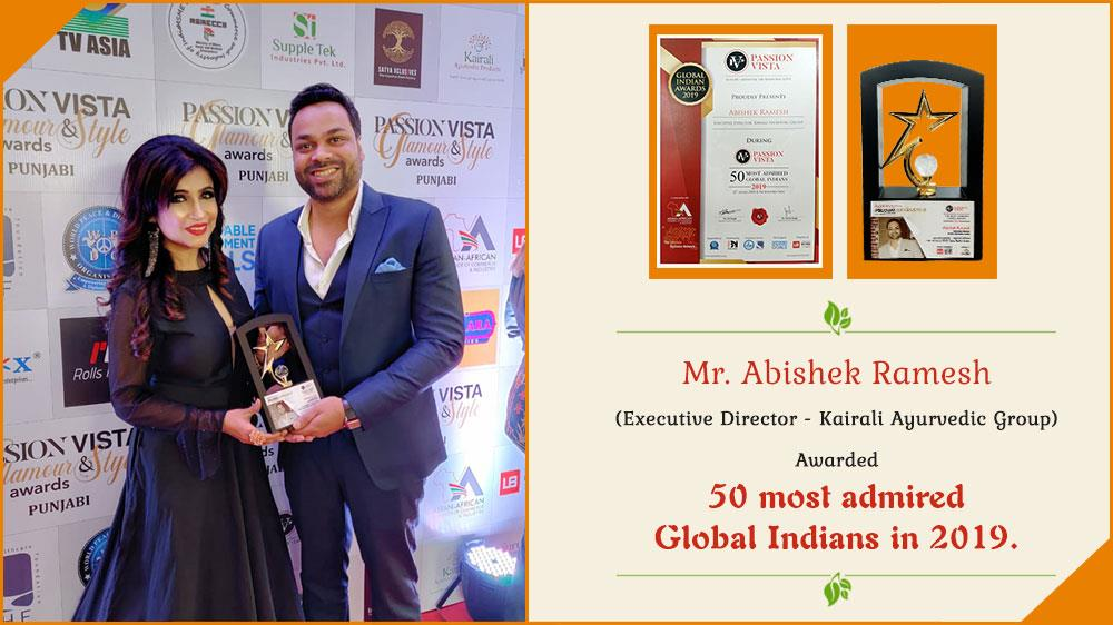 Way ahead for Kairali, Abishek Ramesh awarded 50 most admired Global Indians in 2019