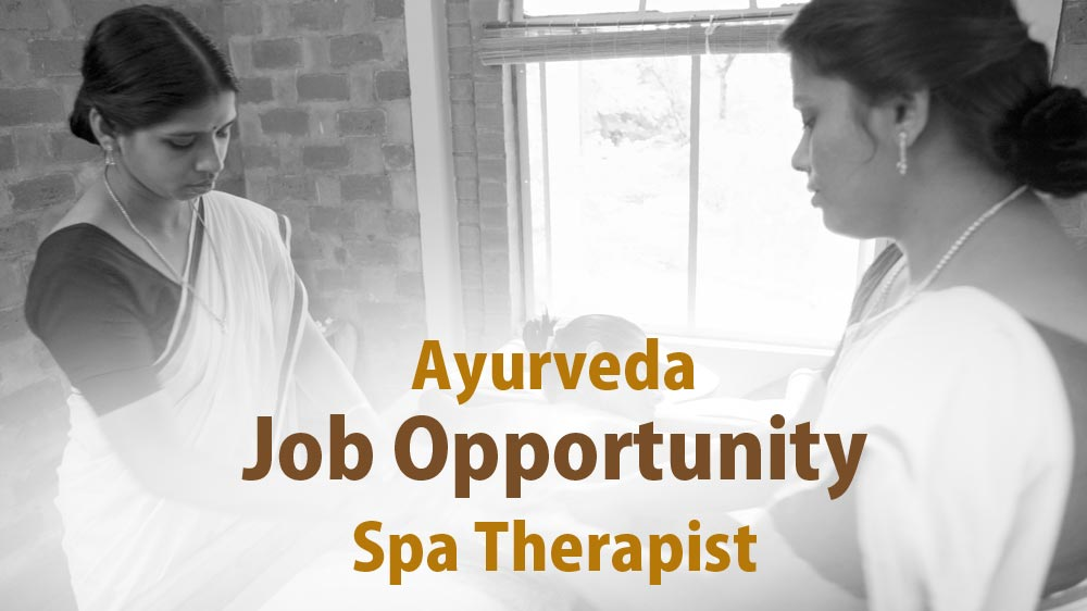 There is nothing better than this! Career in Ayurveda