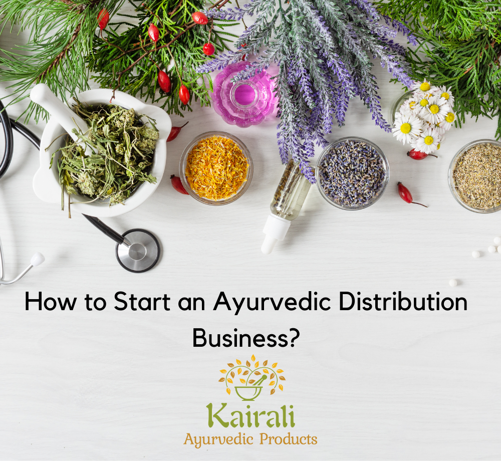 Ayurvedic distribution business