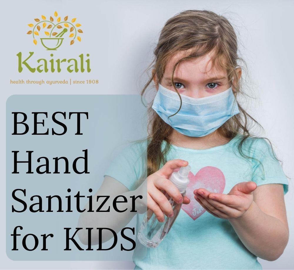sanitizer for kids, hand sanitizer, kairali hand sanitizer
