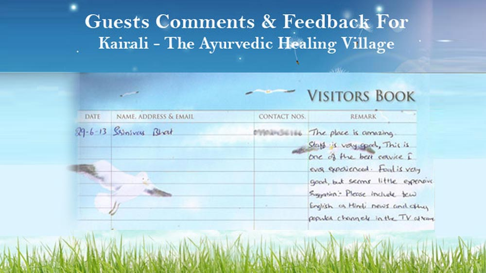Feedback by Sreenivas Rao - Amazing Place In Kerala