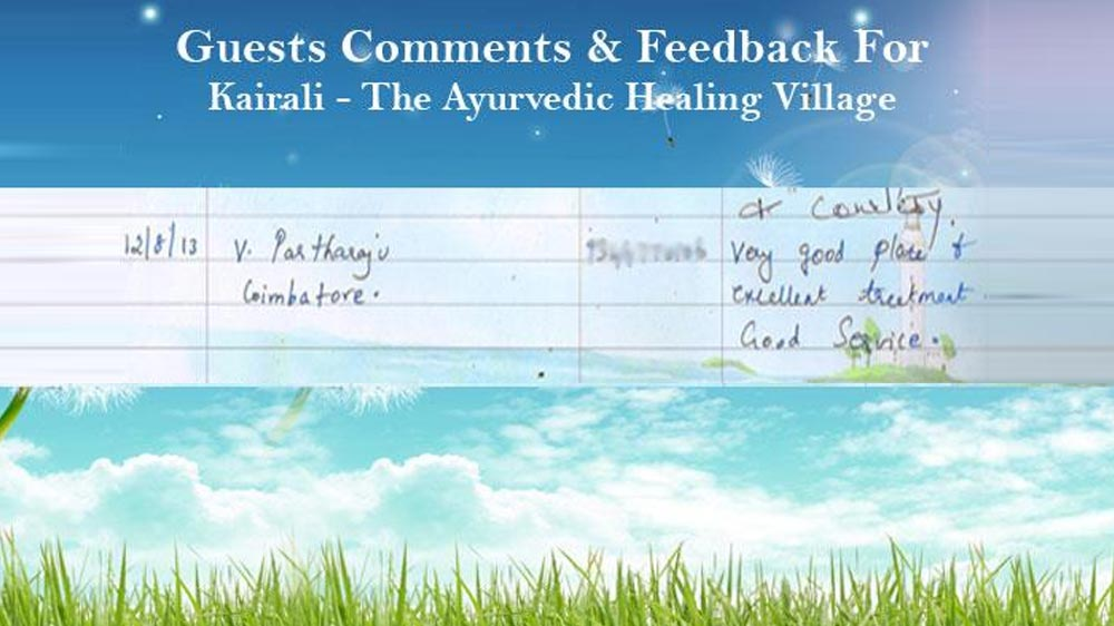 feedback by v.partharaju