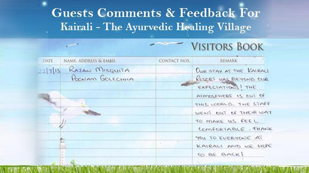feedback by poonam golechha and rajan misquita