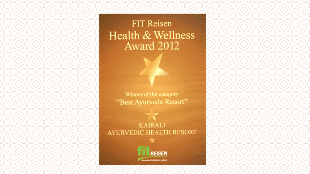 Kairali - The Ayurvedic Healing Village receives the FIT Premium Quality Certificate .