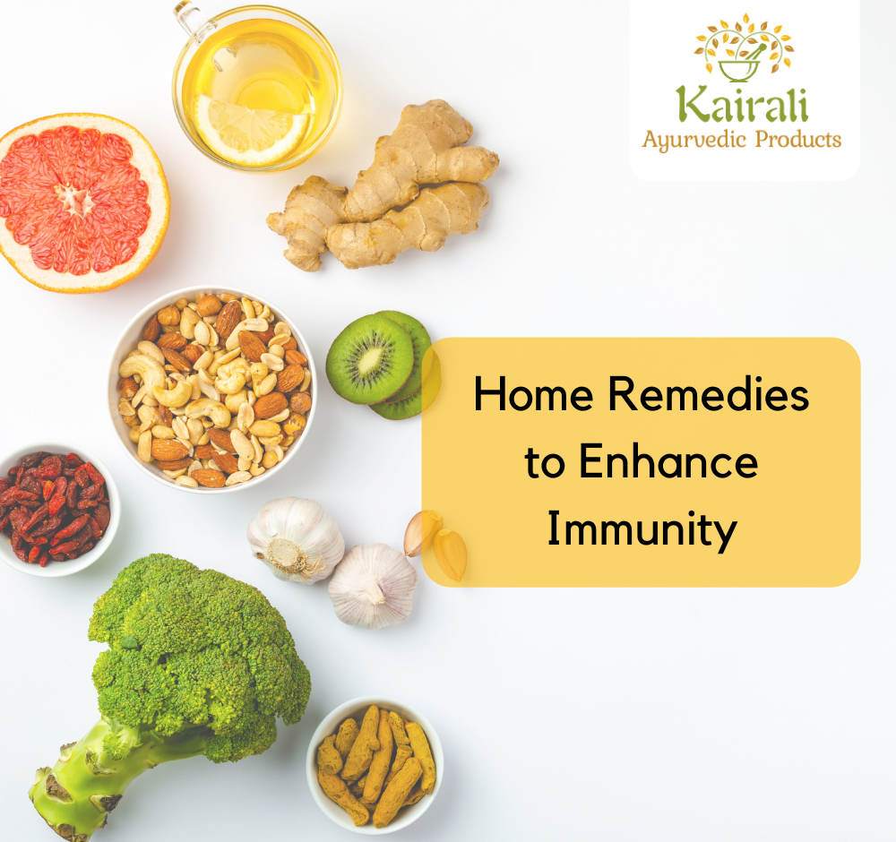 Home Remedies to Enhance Immunity