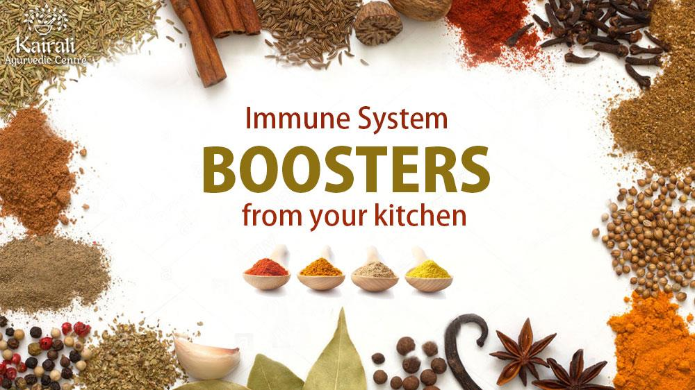 Immune system boosting recipes from kitchen