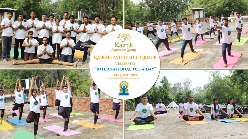 International Yoga Day Celebrates by Kairali Ayurvedic Group