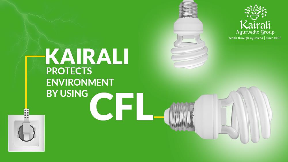 Kairali started using CFL to save electricity