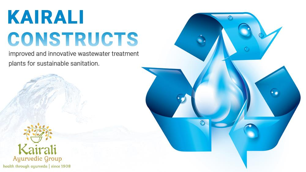 Kairali constructs improved waste water treatment plan
