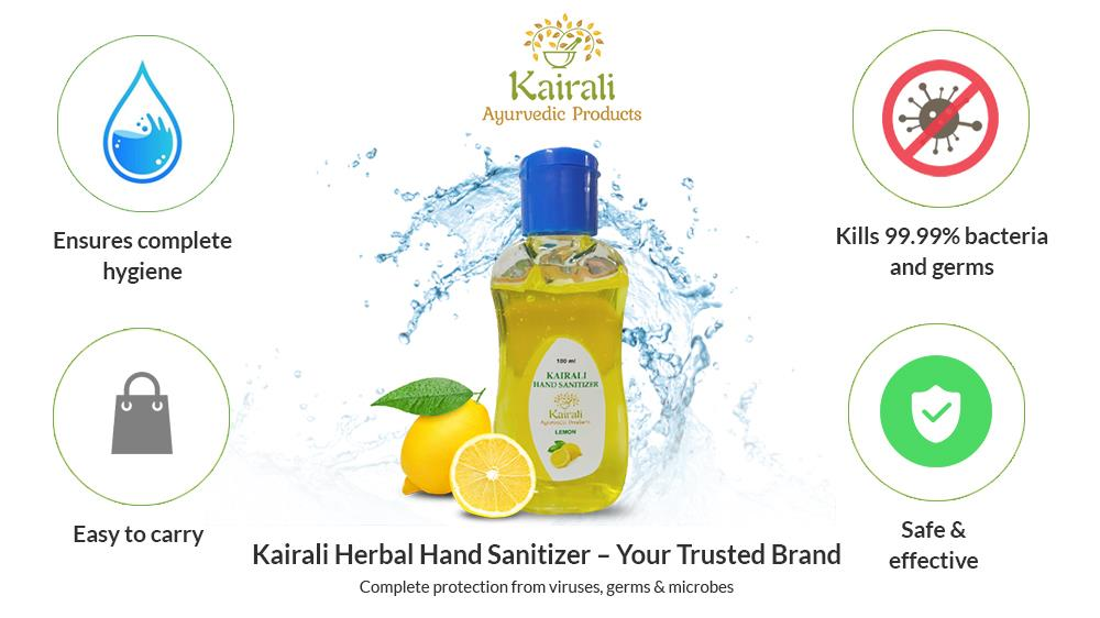 Kairali hand sanitizer