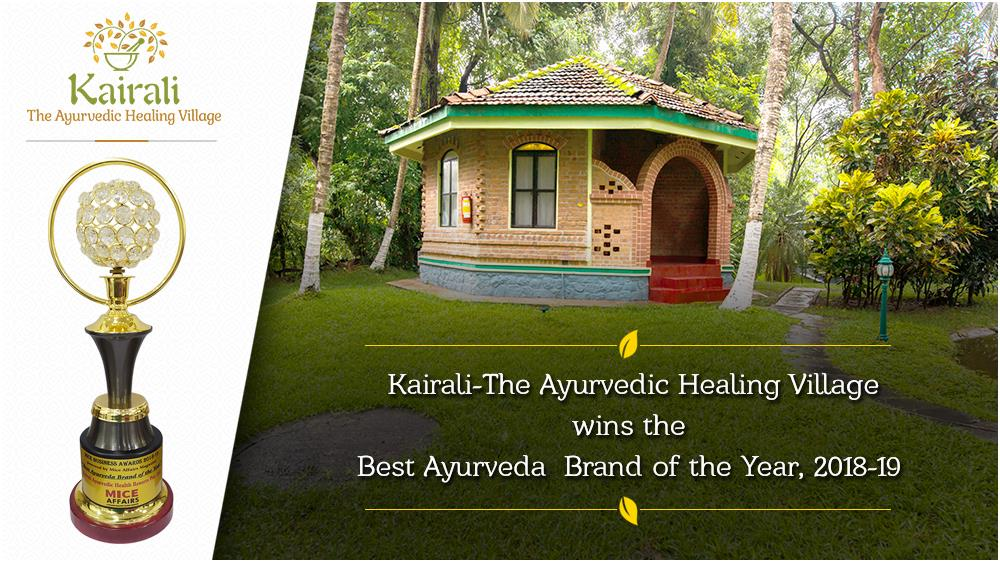 Glorious Appreciation conferred upon Kairali as the Best Ayurveda Brand of the Year