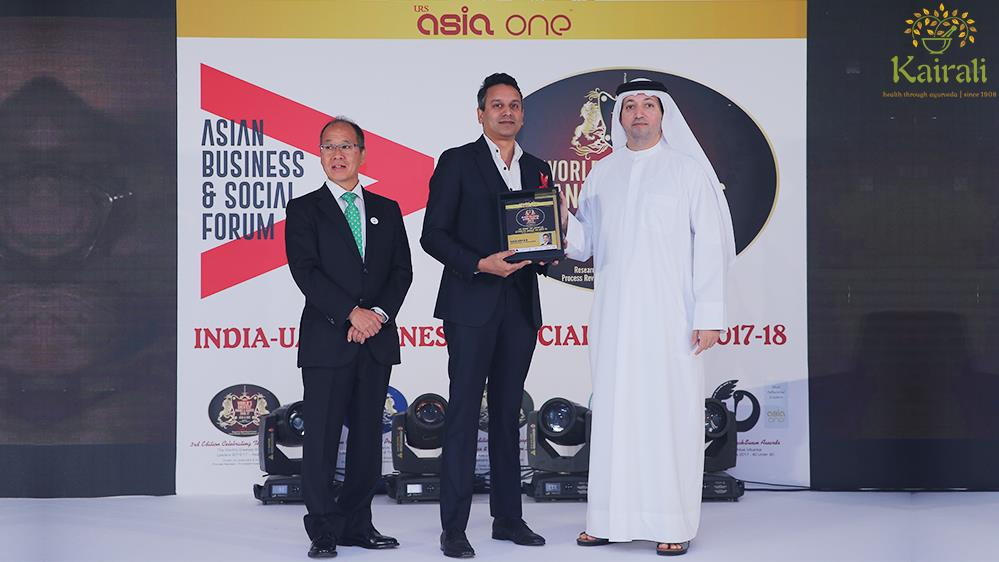Mr. Abhilash K. R Stands Among one of the Most Influential Leaders Under 40 by AsiaOne