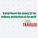 National Geographic Award to Kairali The Ayurvedic Healing Village