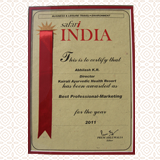 Best professional in marketing 2011