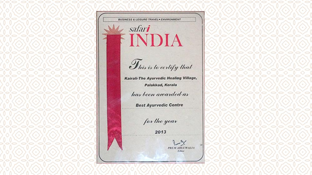 Safari India Award 2013