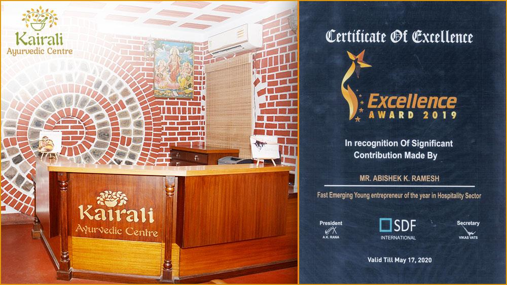 The Hospitality Sector bags the Certificate of Excellence 2019 by SDF International