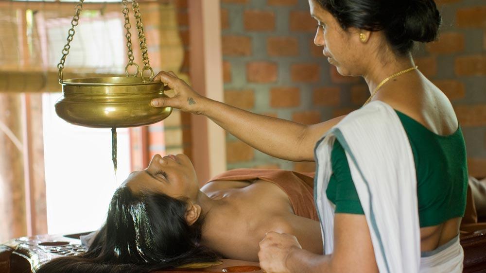 shiro dhara and deep tissue massage