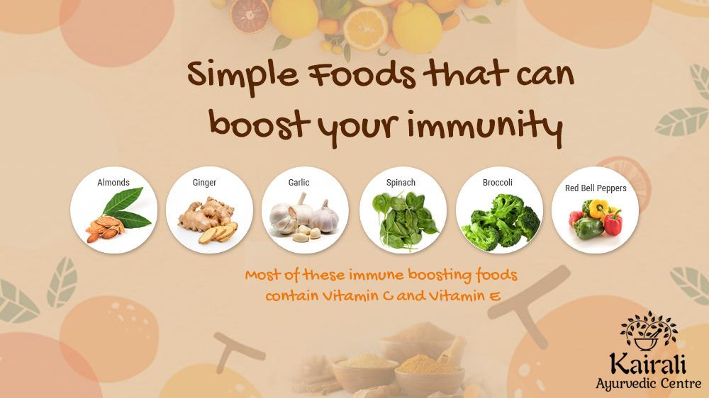 Simple foods that boosts immunity