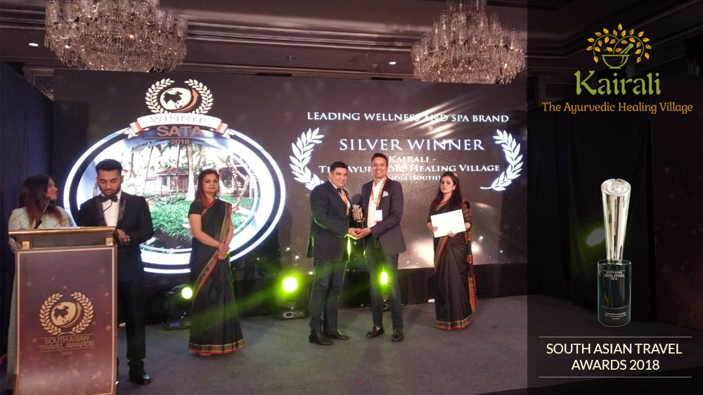South Asian Travel Awards 2018 Conferred Upon Kairali-The Ayurvedic Healing Village