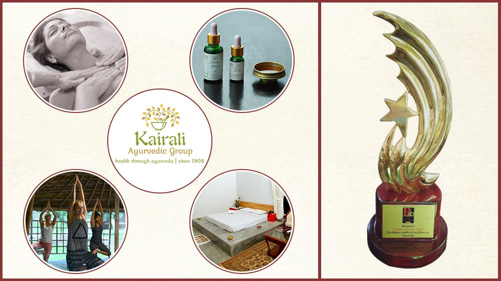 Kairali Ayurvedic Group becomes the Symbol of Excellence by Best Asian Healthcare Brand, 2017