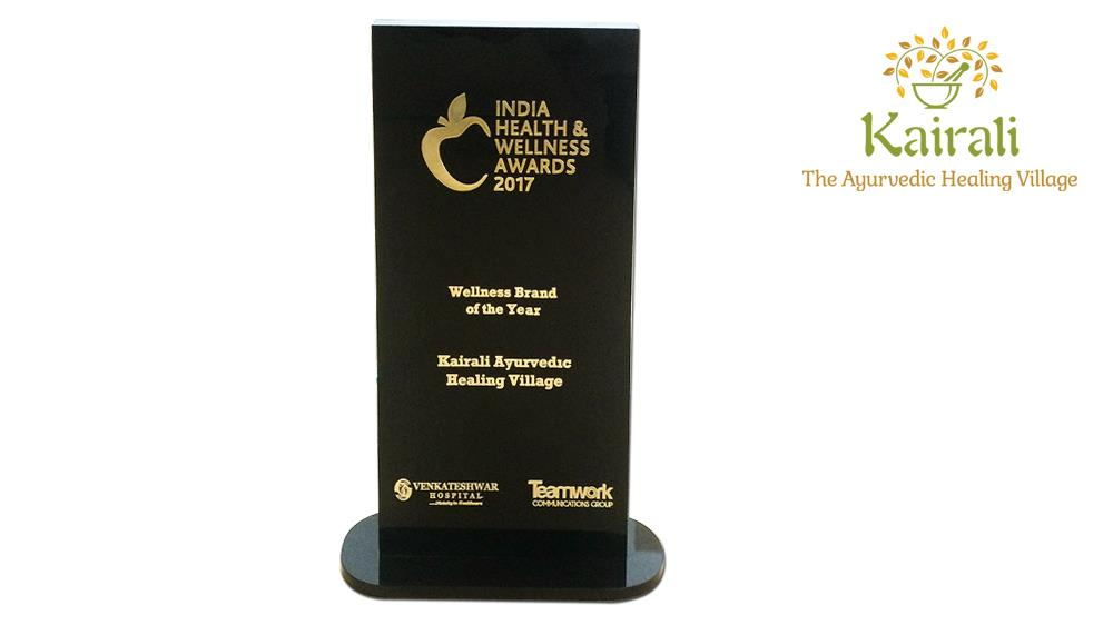 Kairali Bagged The Wellness Brand of The Year Award