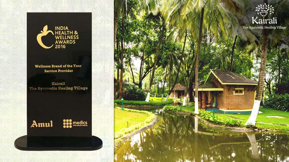 Meritorious for its Efforts-Kairali Proves to be the best Wellness Brand of the Year, 2016