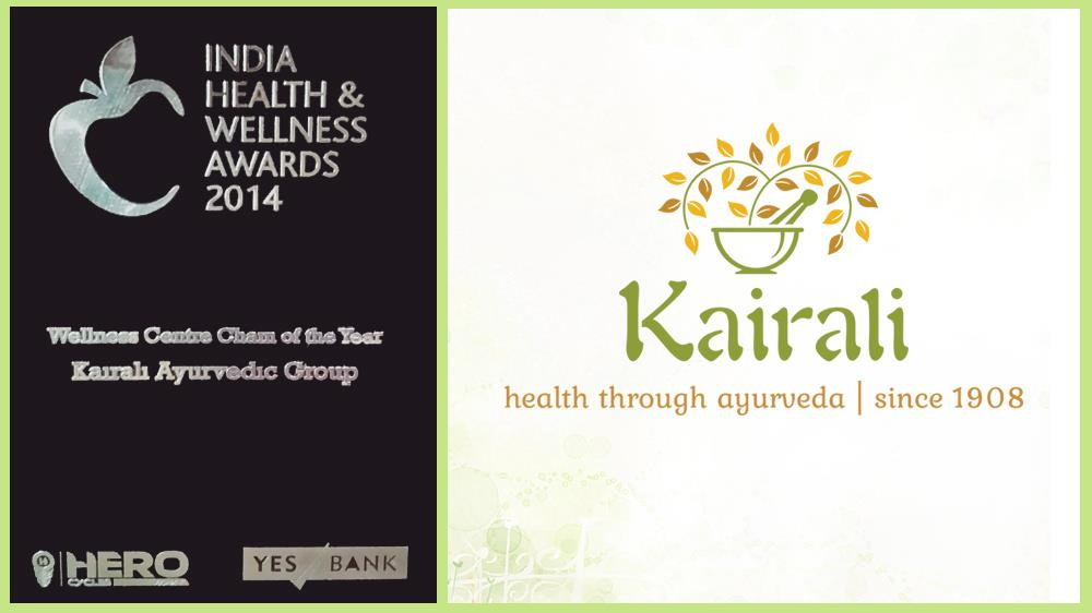 Kairali Ayurvedic Group Swipes the Floor with Wellness Centre Chain of the Year Award, 2014