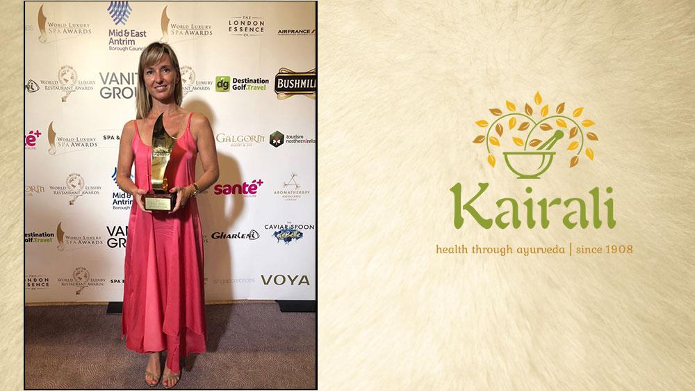 Kairali's Breakthrough with World Luxury Spa Award 2018