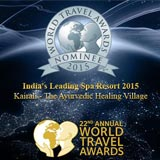 nominee of World Travel Awards