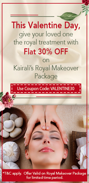 Flat 30% discount on Royal Makeover Package