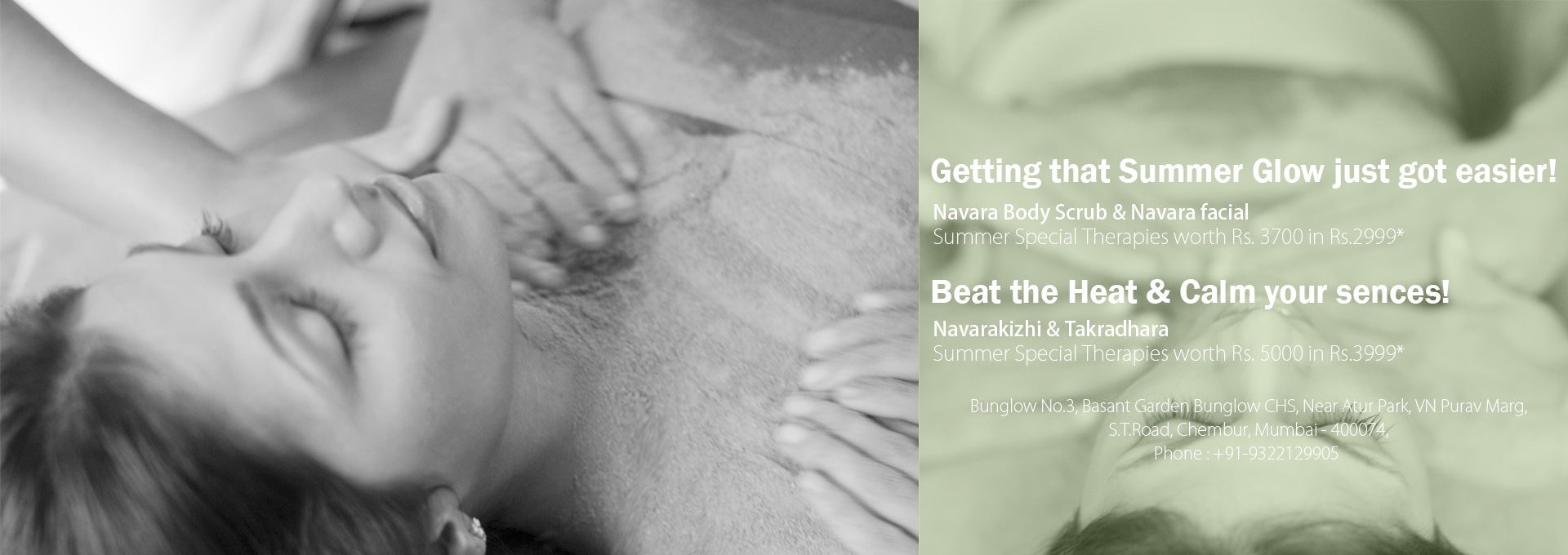 Amazing ways to cool off with Kairali's Summer Special Therapies