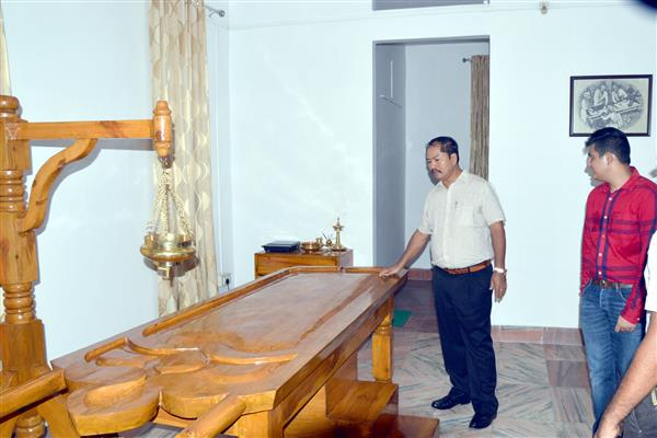 Honourable Health Minister P.Longon inaugurated centre