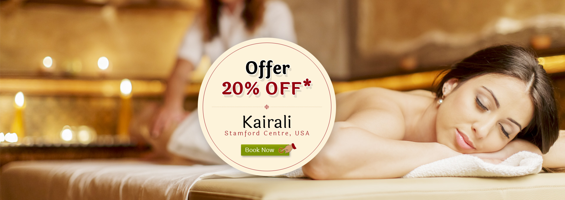 20%Off USA Kairali Centre