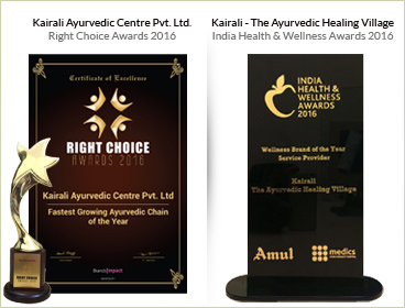 Kairali Ayurvedic Centre Pvt. Ltd. Right Choice Awards 2016 & Kairali - The Ayurvedic Healing Villag