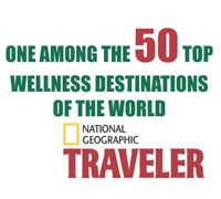Accrediation from National Geographic Traveler